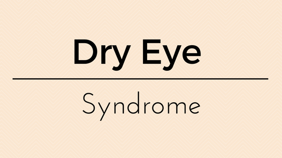 Dry Eye Syndrome, Symptoms, Causes & Treatment options by Dr Vanessa Neoh
