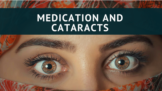 Medication and cataracts